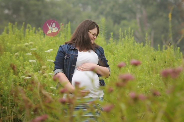 Glowing, glowing!   I   Bloomington, IN maternity photographer