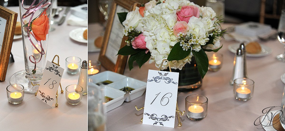 wedding reception photo, wedding reception detail photo, The Canfield Casino wedding, Saratoga Wedding Photographer, wedding in congress park photo