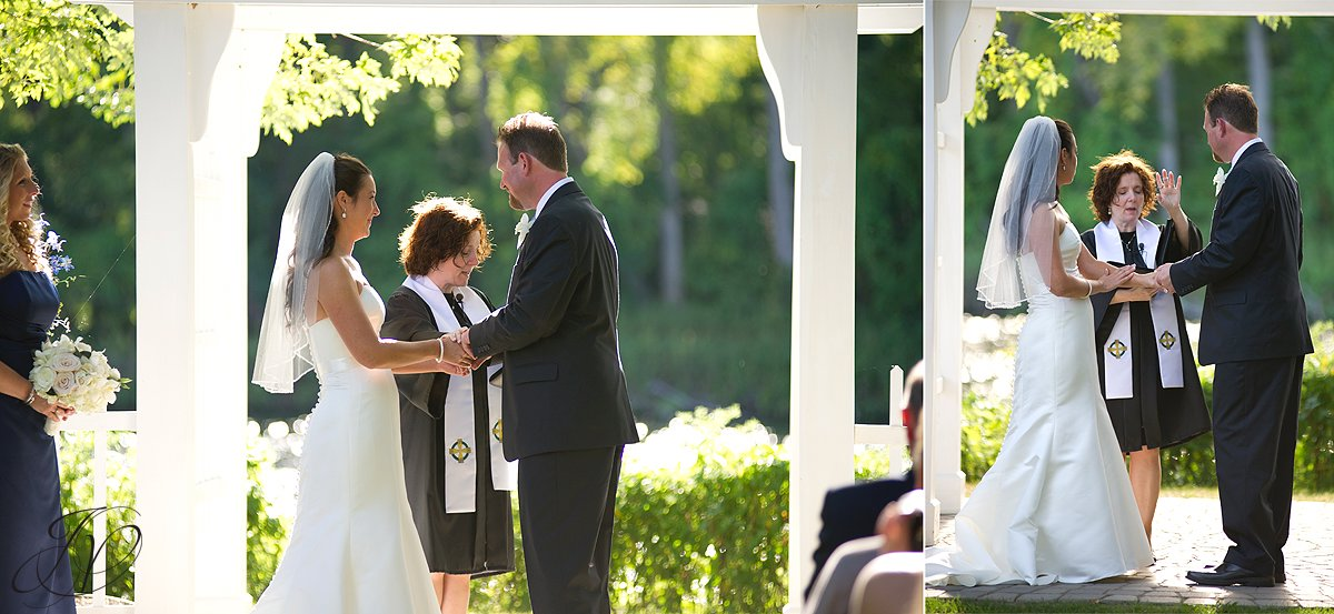 wedding ceremony photo, riverstone manor, schenectady wedding photographer