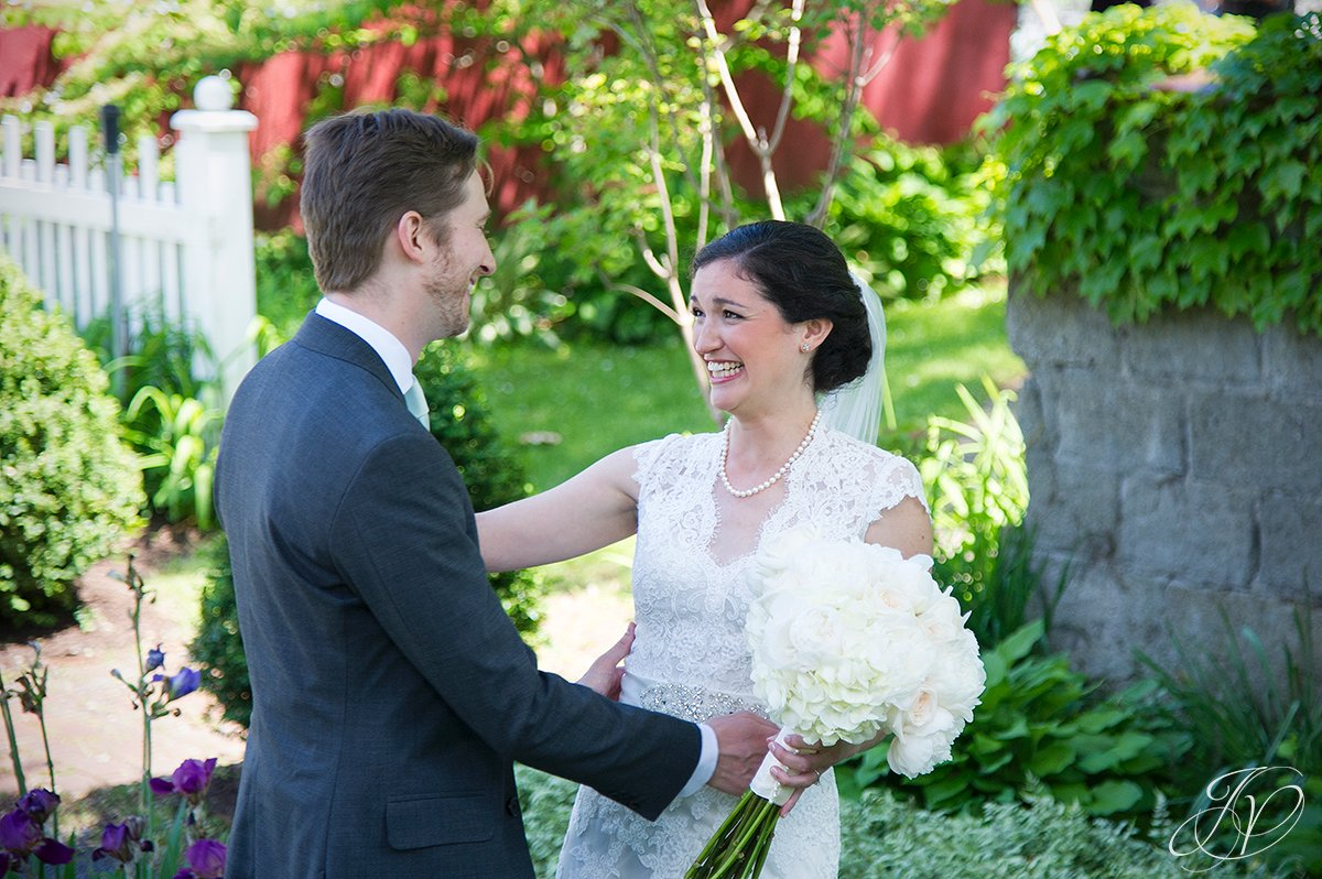 pruyn house first look, Wedding at The Pruyn House, Albany Wedding Photographer