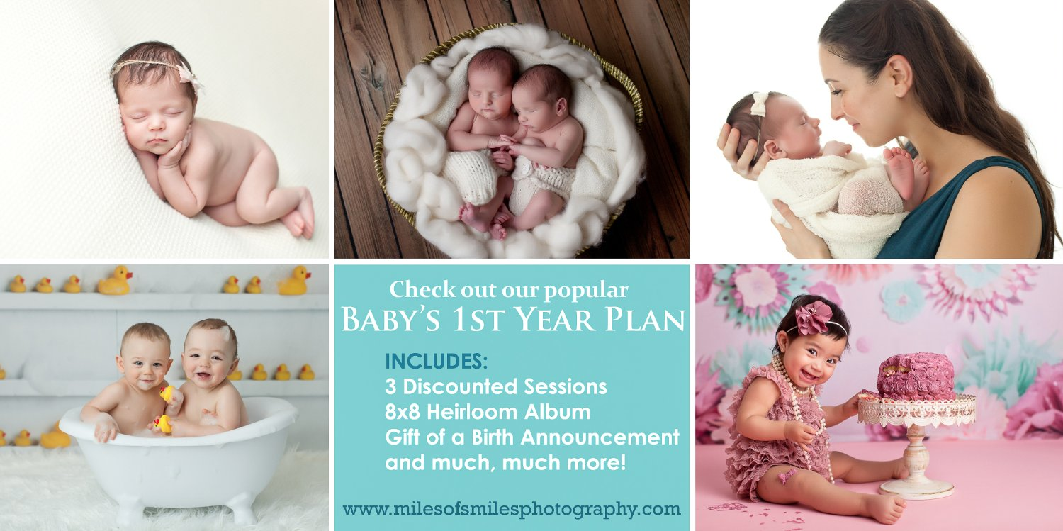 baby s 1st year plan miles of smiles photography