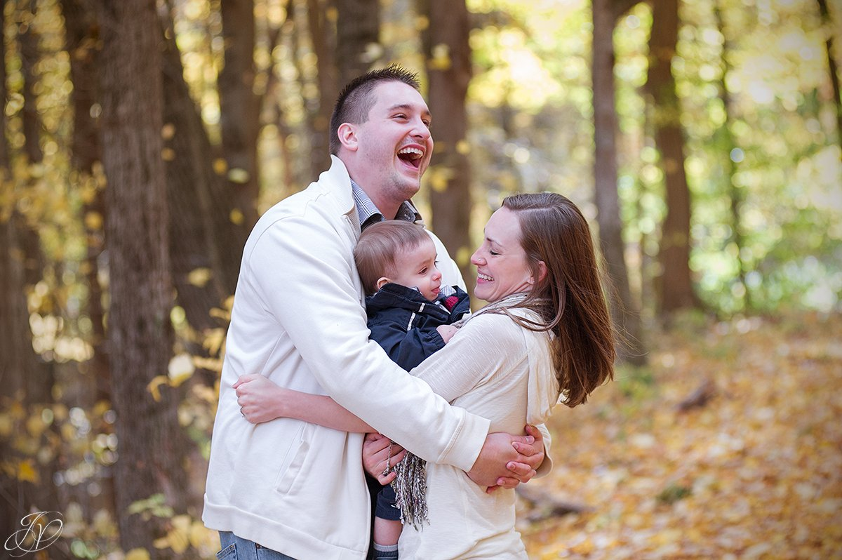 fun fall family portraits, jessica painter photography