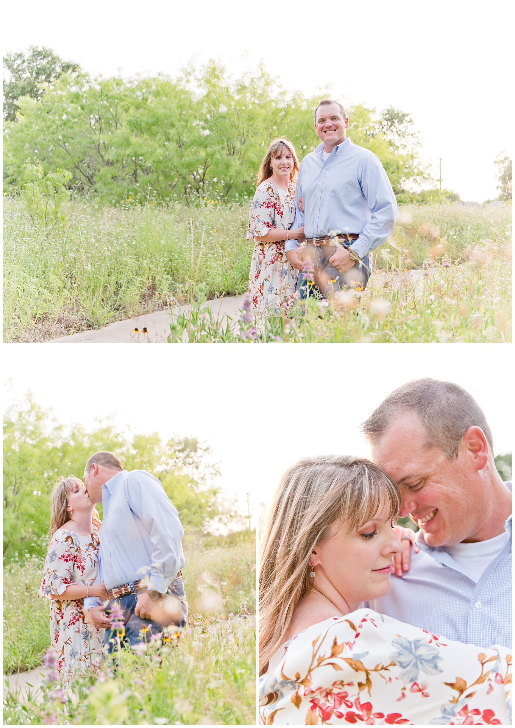 Texas Wildflowers Portraits