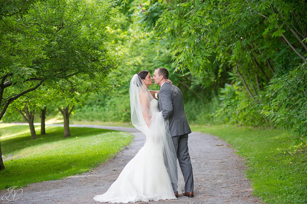 intimate bride and groom shots in congress park