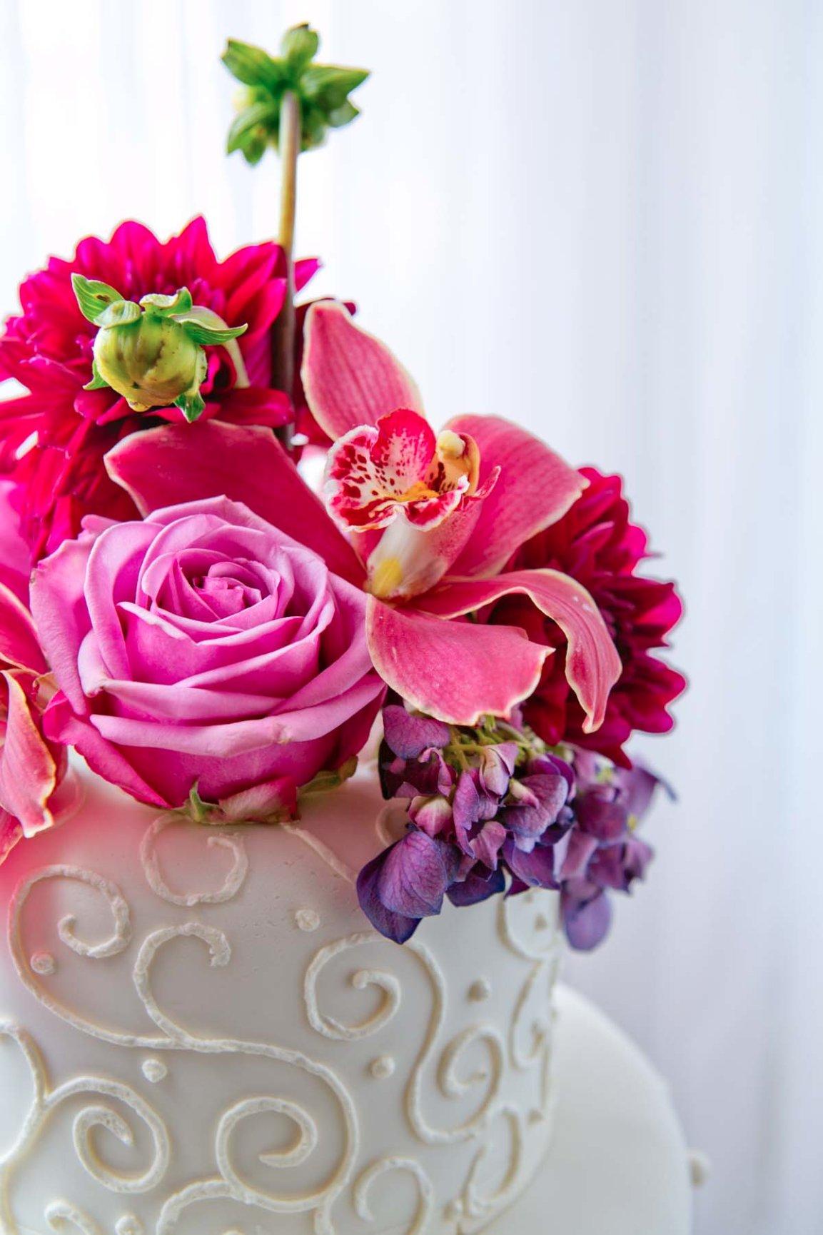 Wedding Cake Trends - Brett Charles Rose Photography
