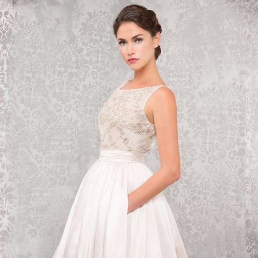 Bridal - Off White of Dublin Columbus Designer Sample Bridal Boutique