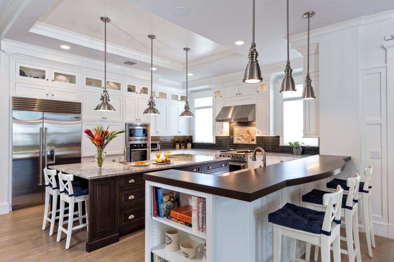 White Transitional Kitchens White Transitional Kitchen