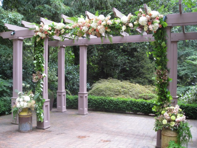 Portland Wedding Leach Botanical Garden Lisa John
