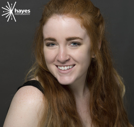 Hayes Photography, portrait, studio, headshots, portraits, redhead