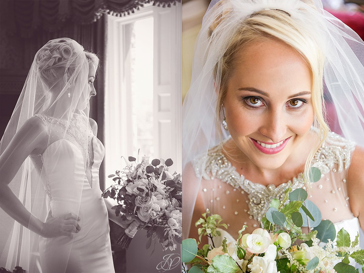 bridal portrait at Inn at Erlowest