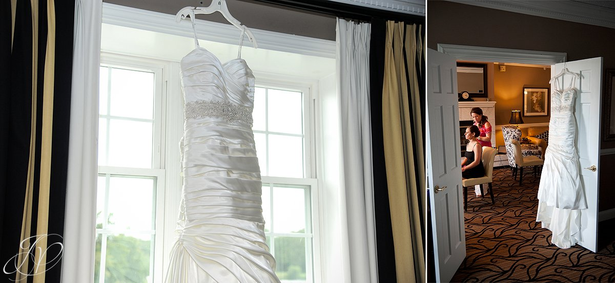 Albany Wedding Photographer, The Glen Sanders Mansion, wedding dress, wedding dress details
