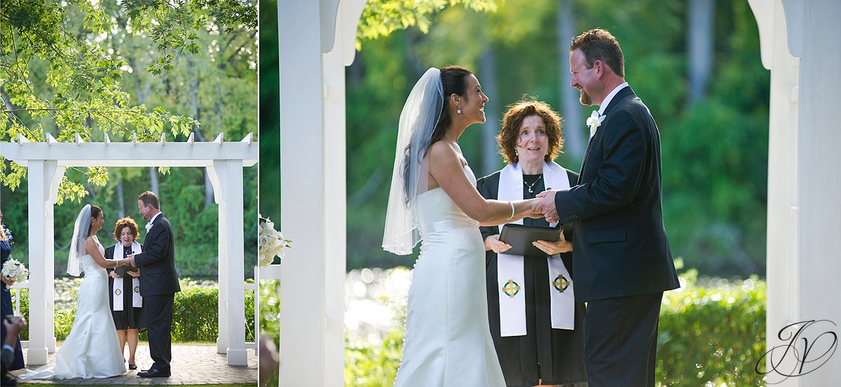 wedding ceremony photo, riverstone manor, schenectady wedding photographer