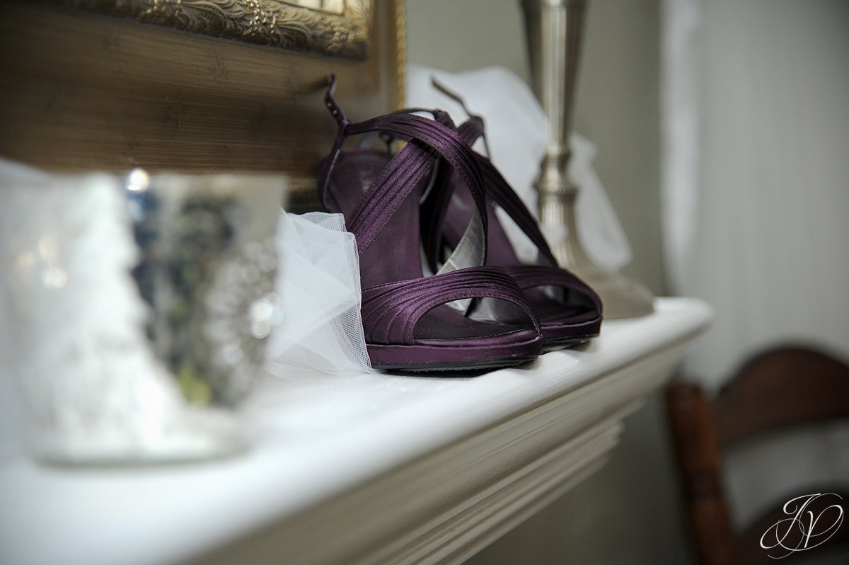 Saratoga Wedding Photographer, Longfellows, wedding shoes photos, wedding gown photos