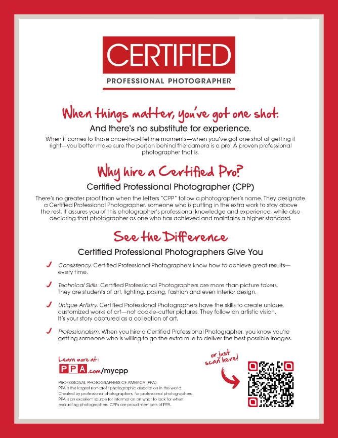 Why Hire Certified Treadwell Photography