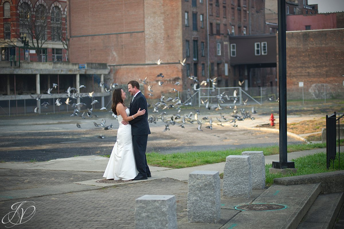 rock the dress session, Franklin plaza photography, downtown troy photo session