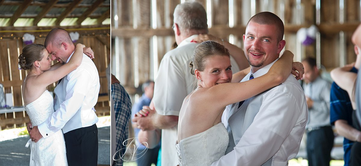 Saratoga Wedding Photographer, upstate wedding photographer, country themed reception photo, first dance photos