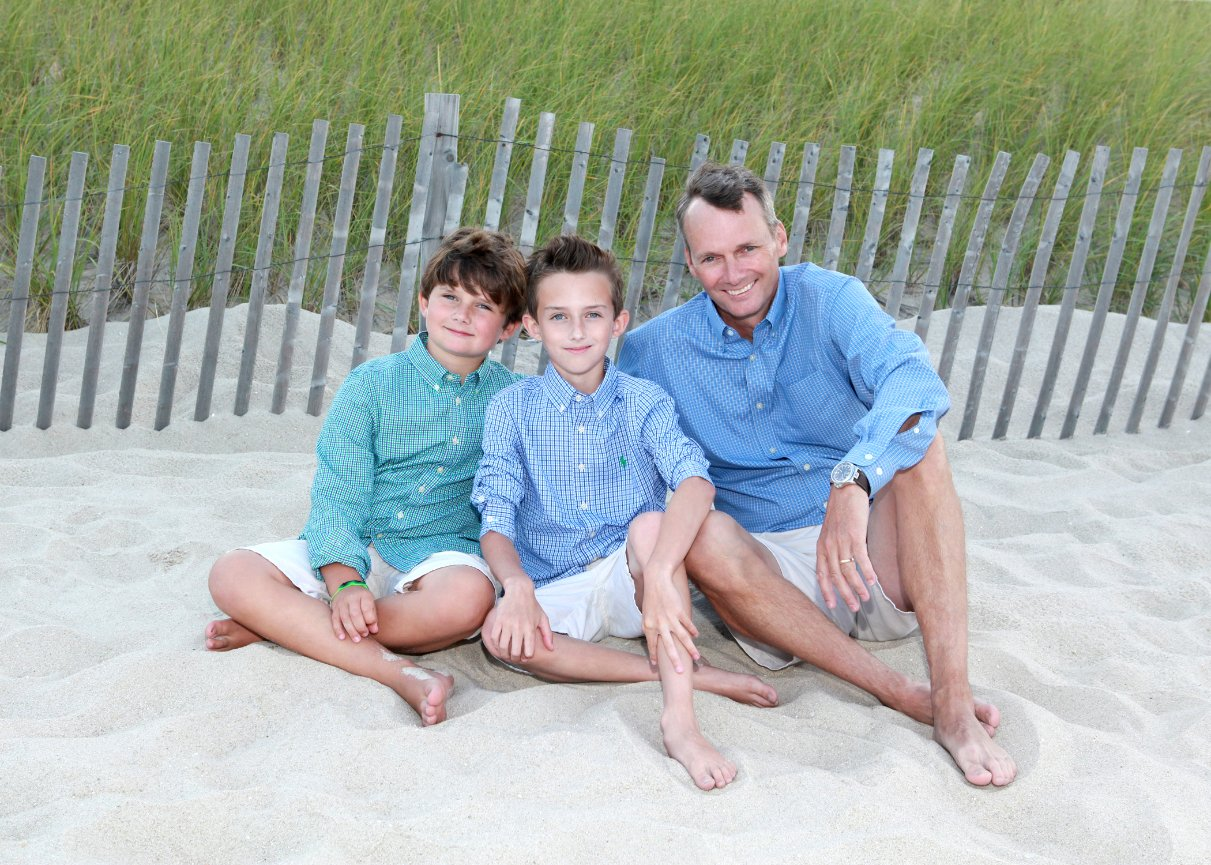 family beach portraits - sues point of view children & family