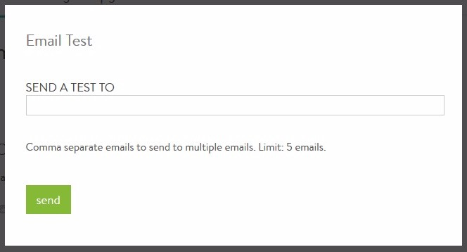 Can I test an email marketing campaign before I send it to ...