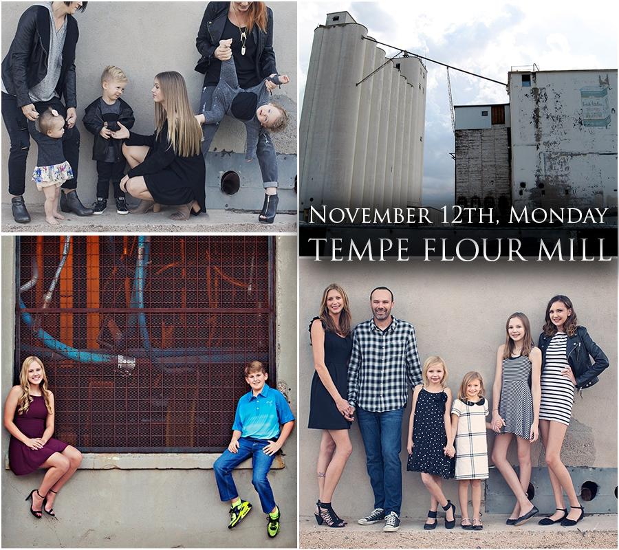 November 12th at Tempe Flour Mill