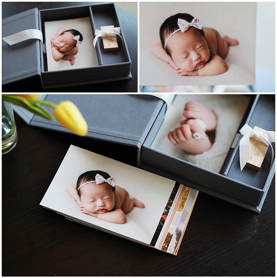 Linen Image Box with USB